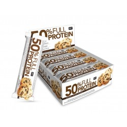50% Full Protein Bar, Chocolat Cookies - 12 x 50g