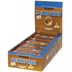 32% Whey-Wafer, Chocolate - 24 bars