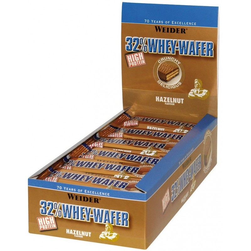32% Whey-Wafer - 24 barres de 35 gr