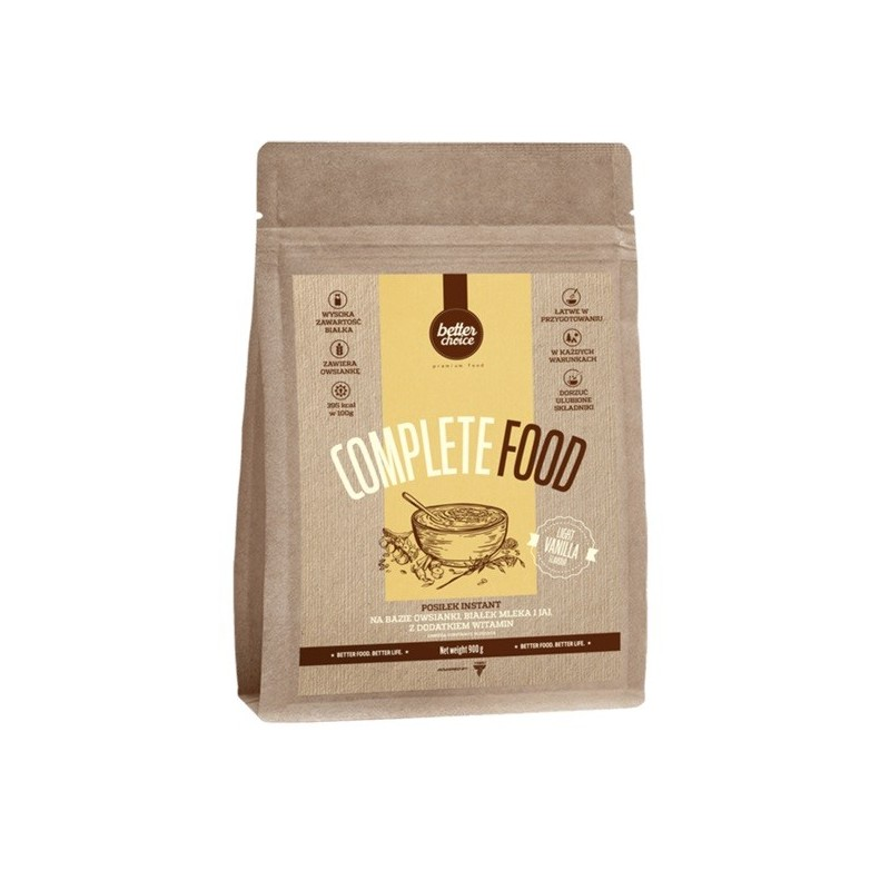 Complete Food, vanille 900 gr
