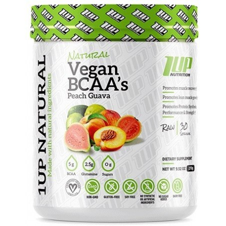 Natural Vegan BCAA + Glutamine - 270 gr / 360 gr