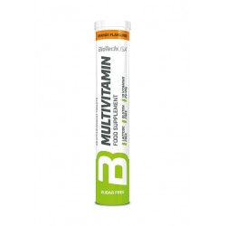 Multivitamin Effervescent, Orange - 12 x 80 gr