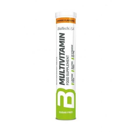 Multivitamin Effervescent, Orange - 12 x 80 gr