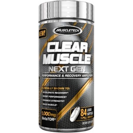 Clear Muscle Next Gen - 84 liquid softgels