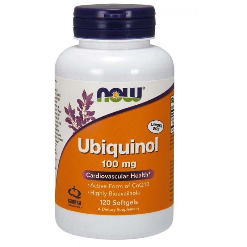 Ubiquinol, 100mg - 120 softgels