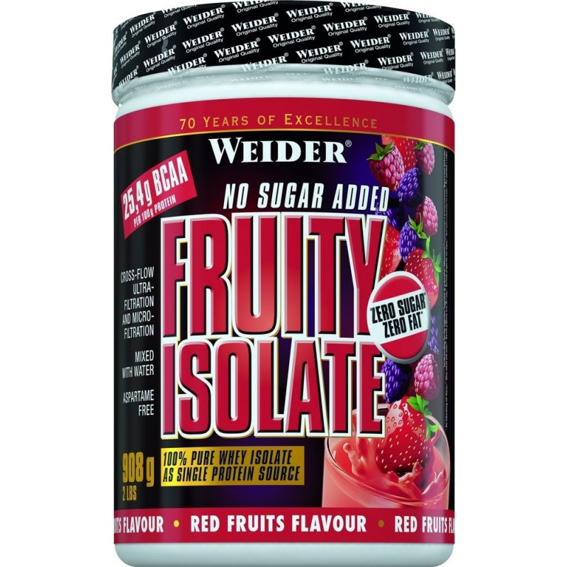 Fruity Isolate, Fruits rouges - 908 gr