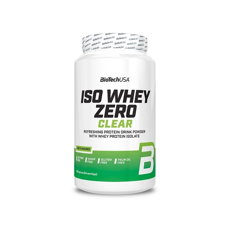 Iso Whey Zero Clear, Lime - 1362g