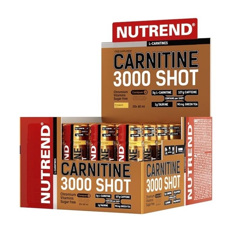 Carnitine 3000 Shot - 20 x 60 ml
