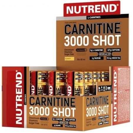 Carnitine 3000 Shot, Orange - 20 x 60 ml.