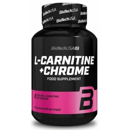 L-Carnitine + Chrome - 60 capsules