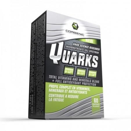 Quarks - Vitamines et Minéraux - 60 tablettes