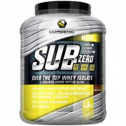 Sub Zero Over The Top Whey Isolate, Vanilla Panna Cotta Cream - 1600g