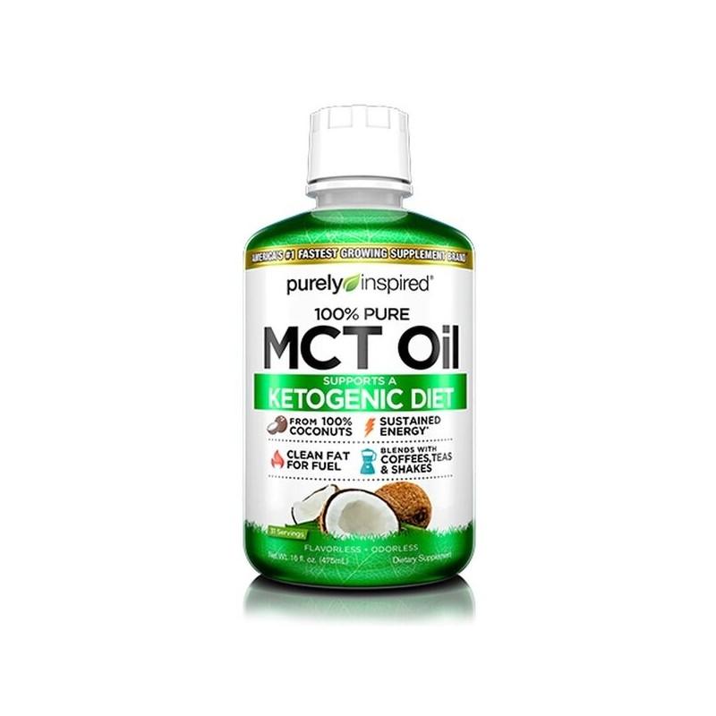 100% Pure MCT Oil - 475 ml