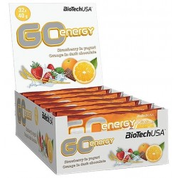 GO Energy Bar - Boite de 32 barres de 40 gr