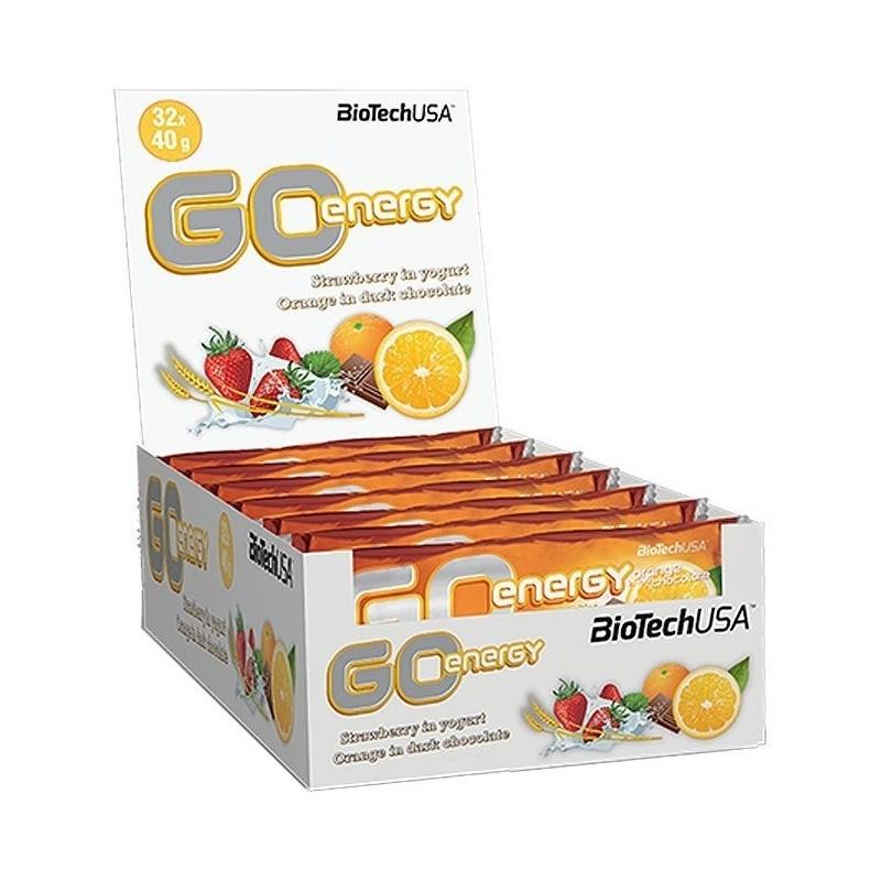 GO Energy Bar - Boite de 32 barres de 40 gr