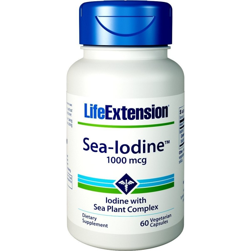Iode marin 1000 mcg - 60 caps veggie
