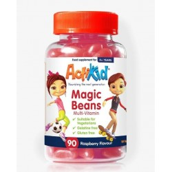 Magic Beans Multi-Vitamin, Raspberry - 90 gummies