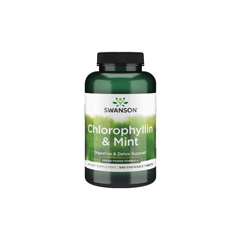 Chlorophylline & Menthe - 500 comprimés à croquer