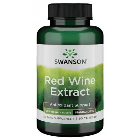 Red Wine Extract, 500mg - 90 capsules