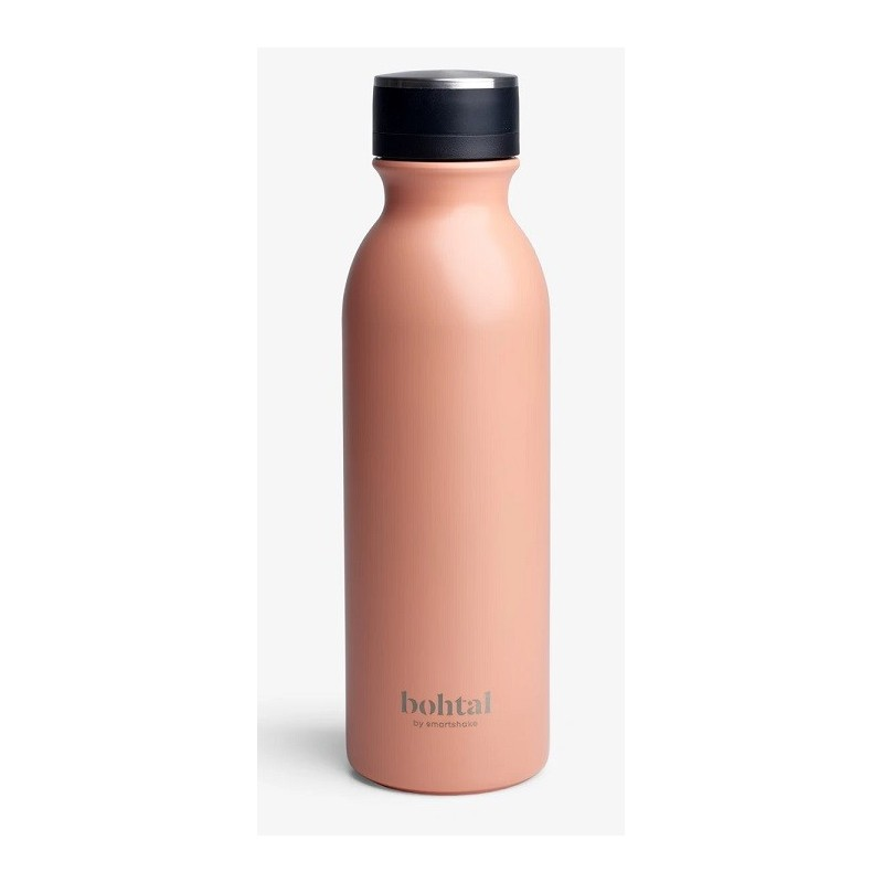 Botella aislante Bohtal, color coral, 600 ml