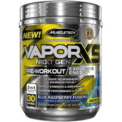 Vapor X5 Next Gen Pre-Workout, Blue Raspberry - 228g