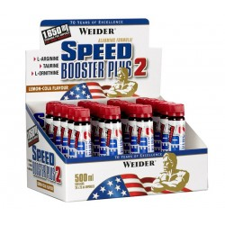 Speed Booster Plus 2, Lemon-Cola - 20 x 25 ml.