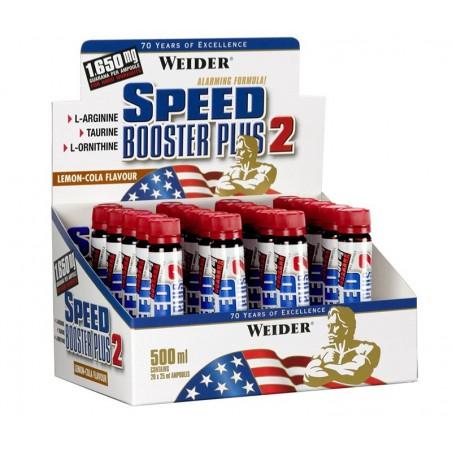 Speed Booster Plus 2, Citron-Cola - 20 x 25 ml.