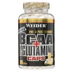 BCAA + L-Glutamine Caps - 180 caps