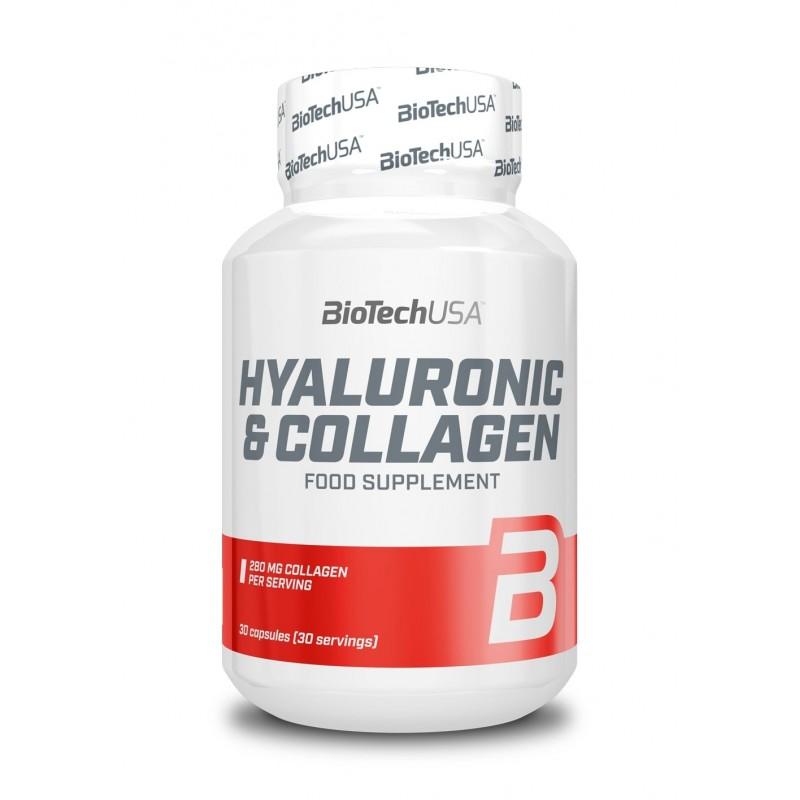 Acide Hyaluronique + Collagène - 30 capsules