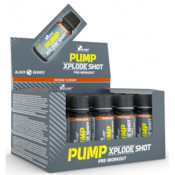 Pump Xplode Shot, Fruit Punch - 20 x 60 ml.