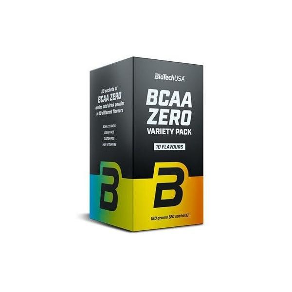 BCAA Zero, Variety Pack (10 parfums) - 20 sachets x 9 gr