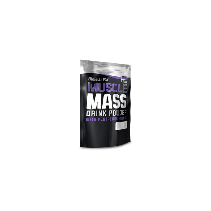 Muscle Mass - 1000 g - Gainer Biotech USA