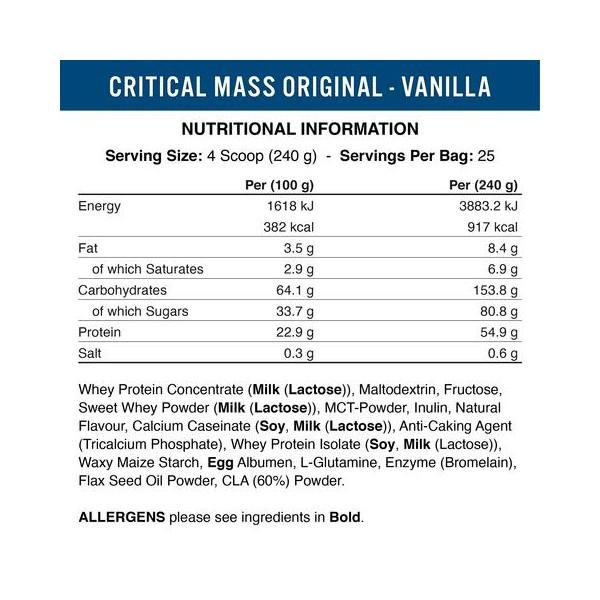 Critical Mass Original - 6000 gr