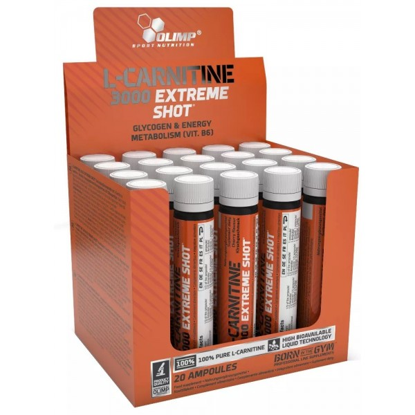 L-Carnitine 3000 Extreme Shot Olimp Nutrition