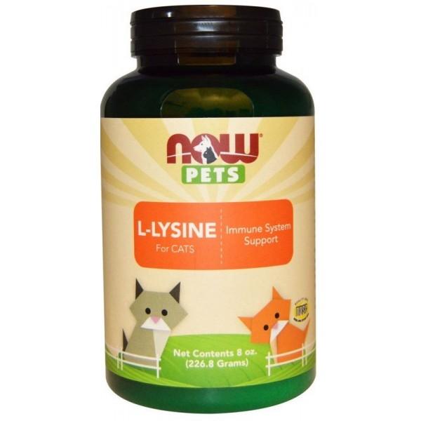 L-Lysine pour chats - 226 gr