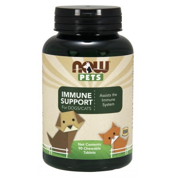 Apoyo inmunológico para perros y gatos - 90 comprimidos masticables