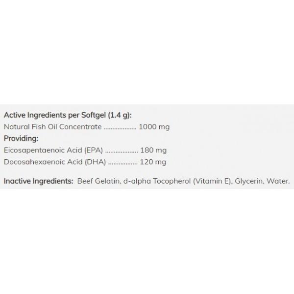 Omega-3 pour chats et chiens - 180 softgels