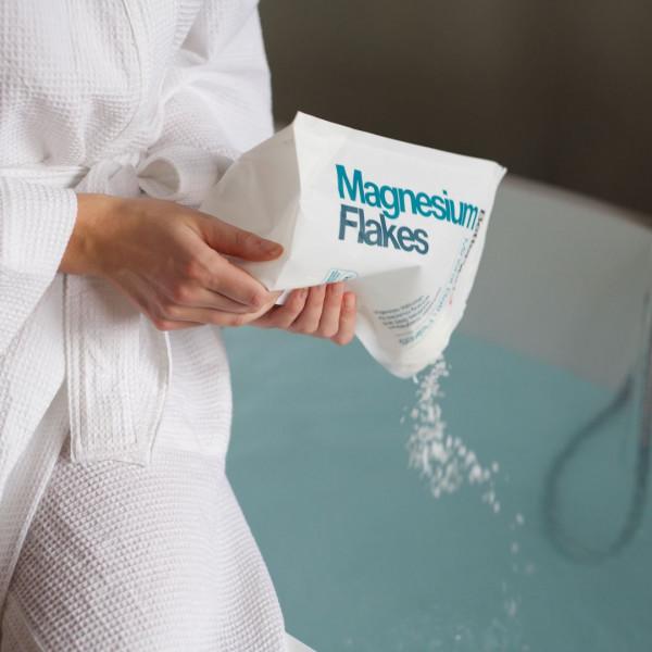 Flocons de magnésium pour le bain