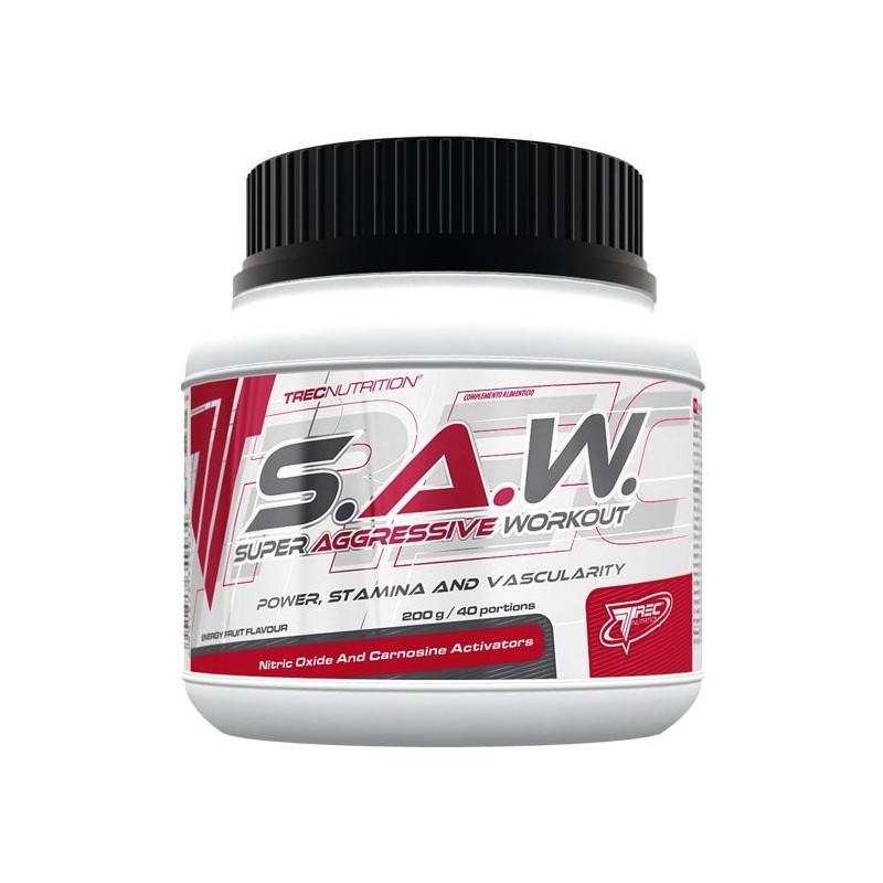 SAW 200 g Booster pré-entrainement Trec Nutrition