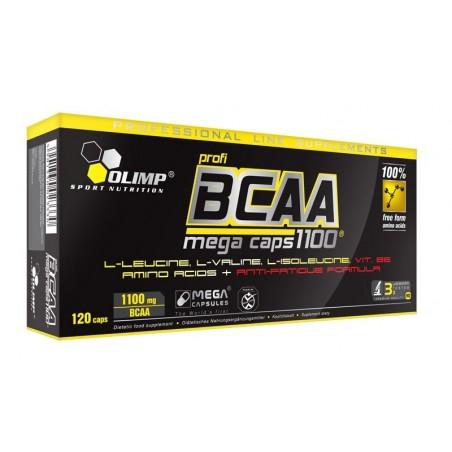 BCAA Mega Caps 1100 - 120 capsules