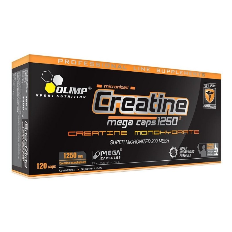 Creatine Mega Caps 1250 Olimp Sport Nutrition