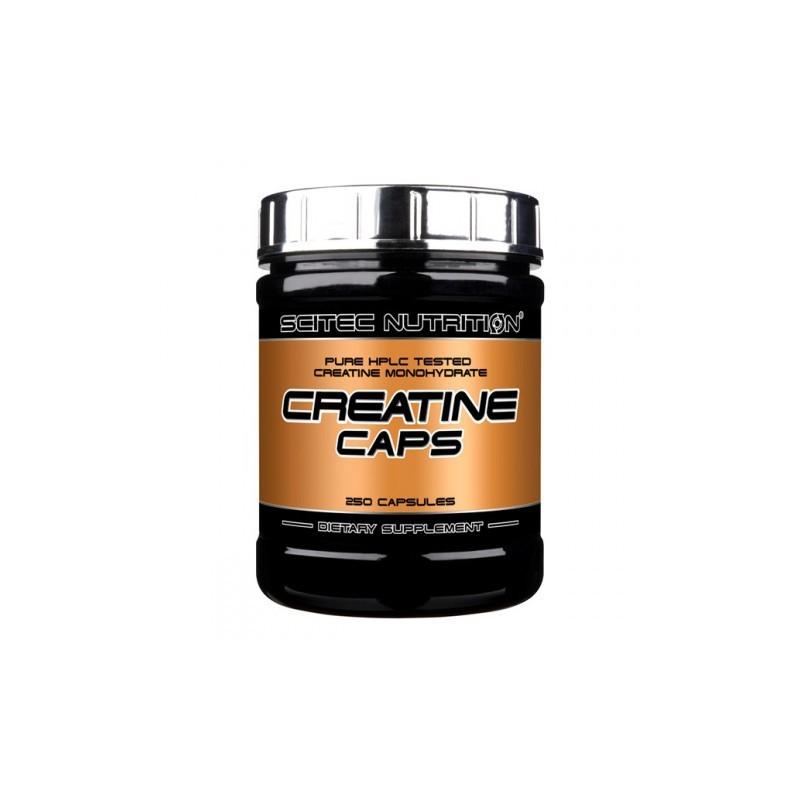Créatine 250 capsules Scitec Nutrition
