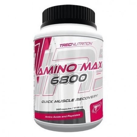 Amino Max 6800 Trec Nutrition 320 capsules Acides Aminés