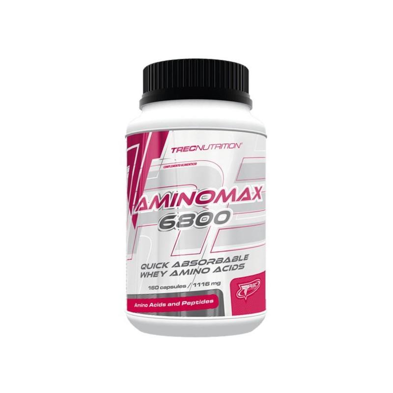 Amino Max 6800 Trec Nutrition 160 capsules Acides Aminés