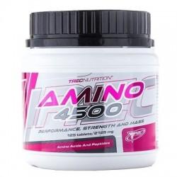 Amino 4500 125 tablettes Trec Nutrition Acides Aminés