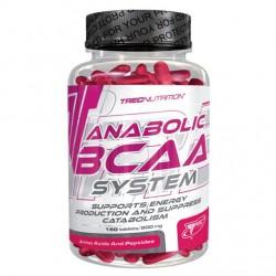 Anabolic BCAA System 150 tablettes Trec Nutrition Acides Aminés