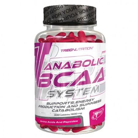 Anabolic BCAA System 300 tablettes Trec Nutrition Acides Aminés