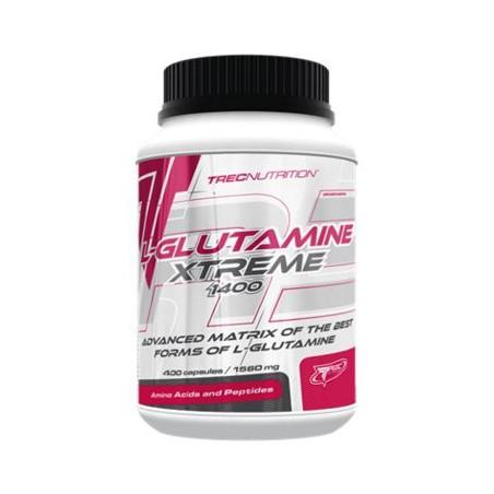 L-Glutamine Xtreme 1400 - 400 capsules - Trec Nutrition