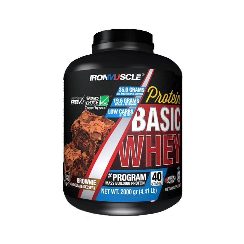 Basic Whey (2000 gr) Ironmuscle