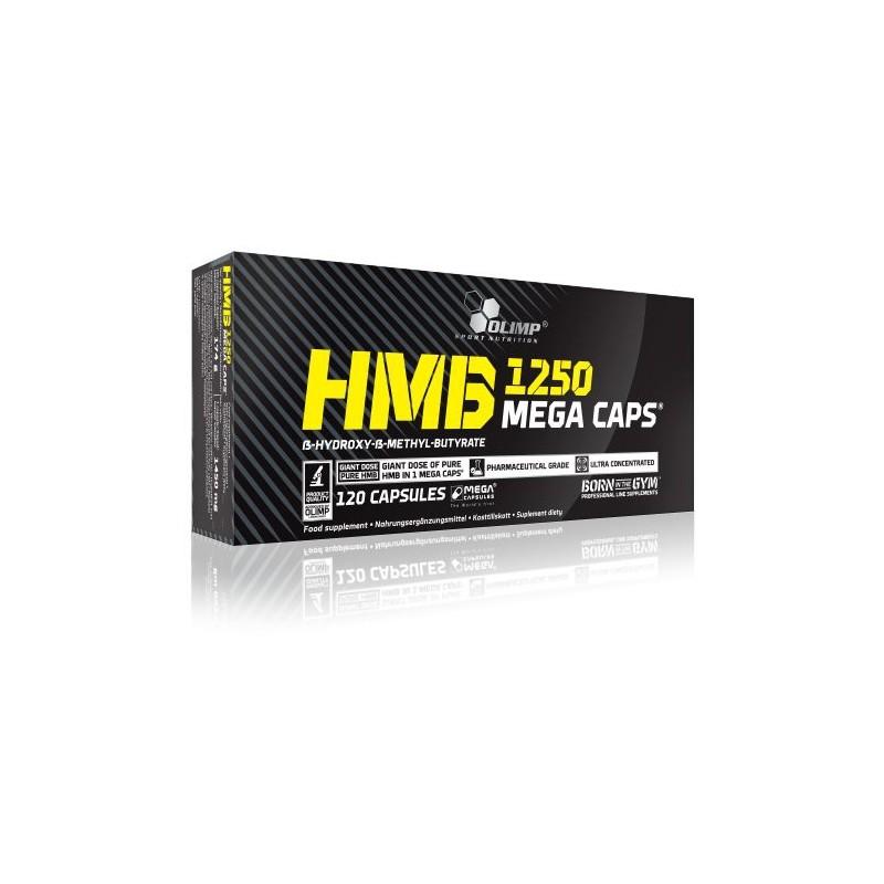 HMB 1250 Mega Caps (120 capsules) Olimp Sport Nutrition